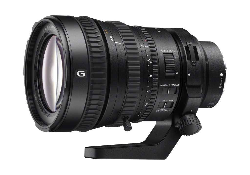 Sony announces first Full Frame powerzoom of the world. And a new 4K ...