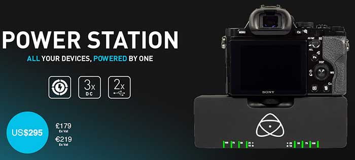 Atomos Sony A7 power station to ship in November!