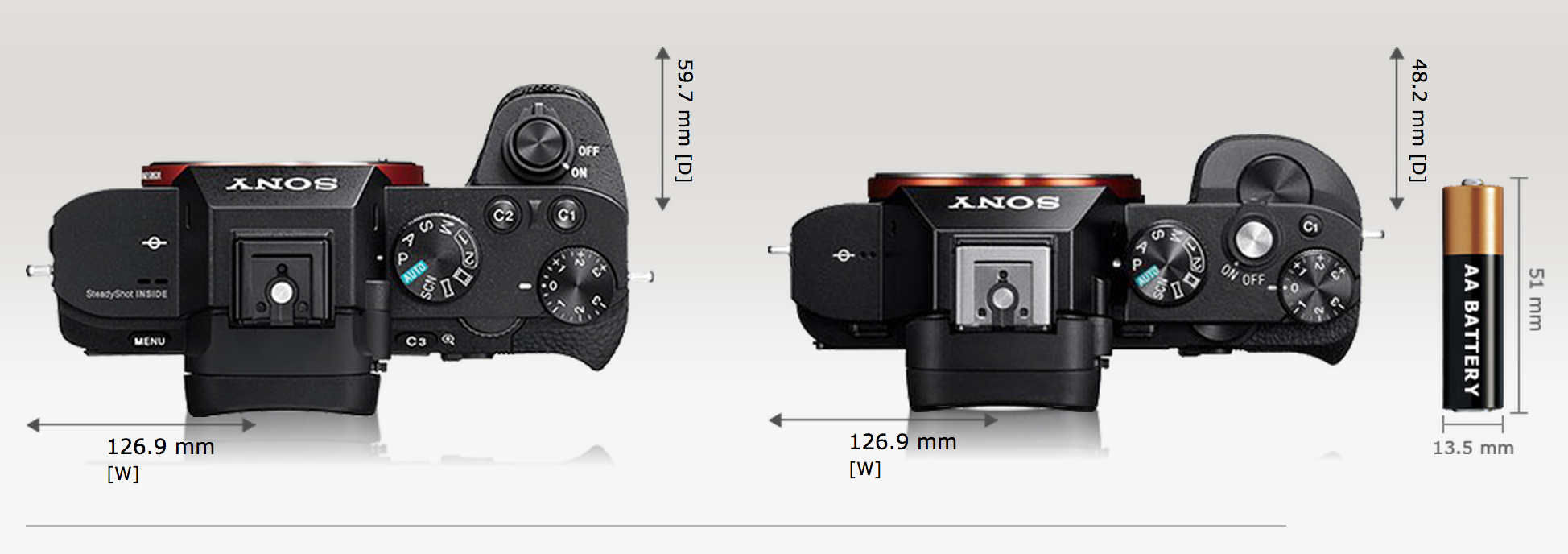 sony a 7 ii how to change shutter speed