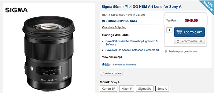 sony fe lenses. good news folks: sigma says they will make lenses for the sony fe system! fe