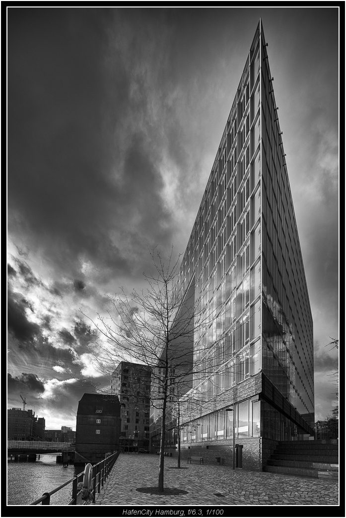 typical use for architecture, lens shifted up, tripod