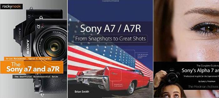 sonyA7books