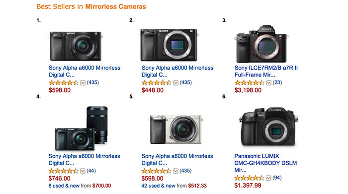 One price drop to rule them all: Sony A6000 sales on new high at ...