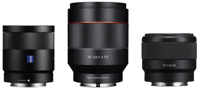 50mm_FE_lens_comparison