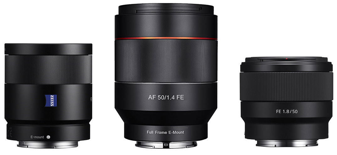 Officially Announced Samyang Autofocus 50mm F 1 4 And