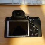 Sony a7R LCD protector removal 8