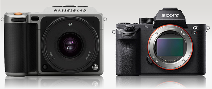 Sony A7rII vs Hassleblad X1D camera and sensor size ...