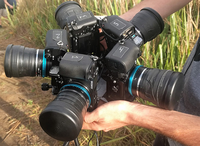 Subversive 360 Camera Rig