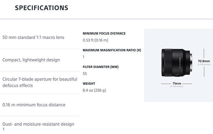 FE50mmmacro