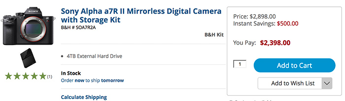 Hot Sony Us Rebates The A7rii And A7sii Never Been So Cheap Now