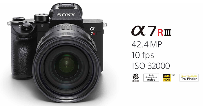Officially announced: New Sony A7rIII, 24-105mm and 400mm FE lenses!