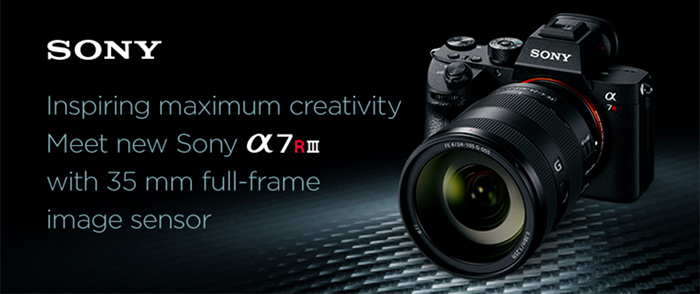 In case you missed this news: Firmware Ver  3 0 for α7R III and α7
