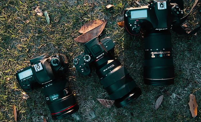 Dan Watson Compared The Three Flagship Full Frame Cameras Sony A7RIII Vs Nikon D850 Canon 5D Mark IV