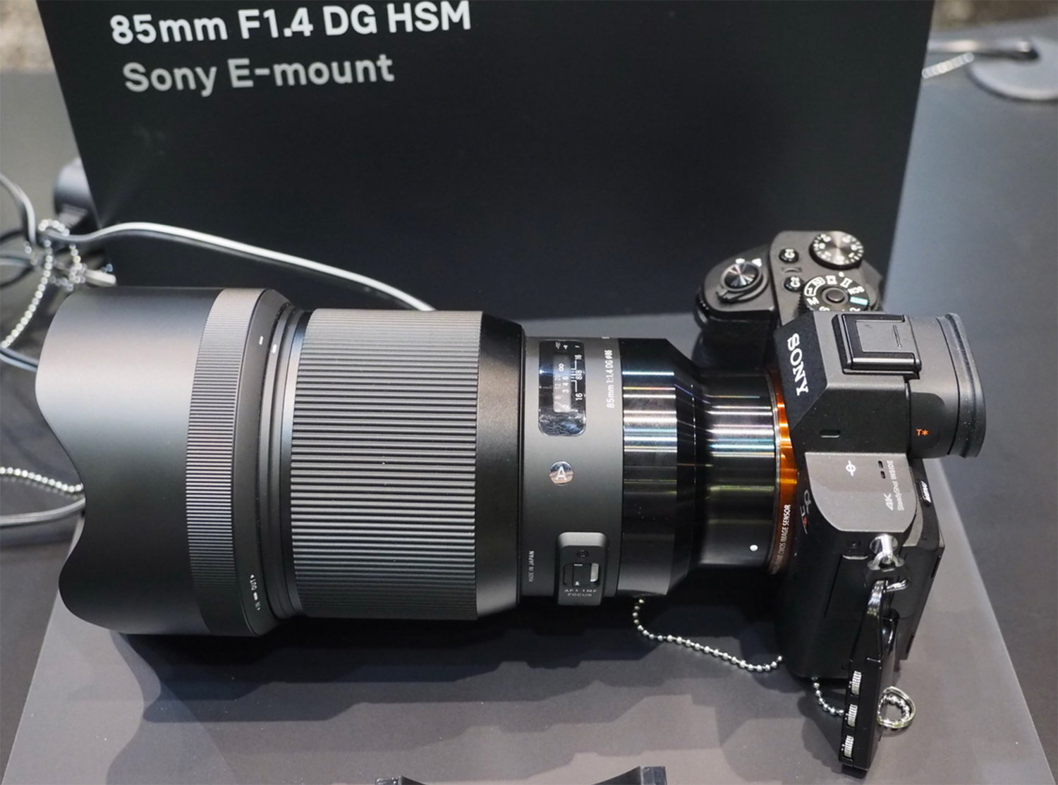 First real world images of the new Sigma E-mount lenses mounted on