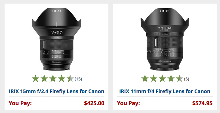 IRIX confirms they plan to release native E-mount Full Frame lenses ...