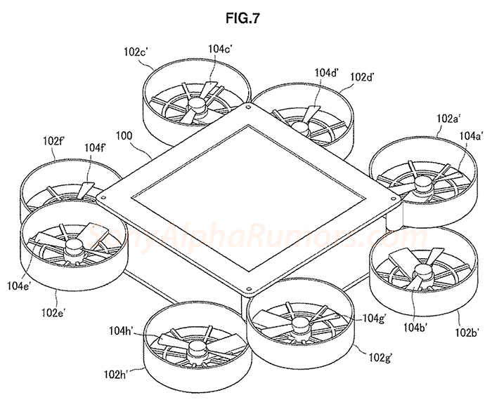 This Patent Shows The First Images Of The New Sony Drone Camera