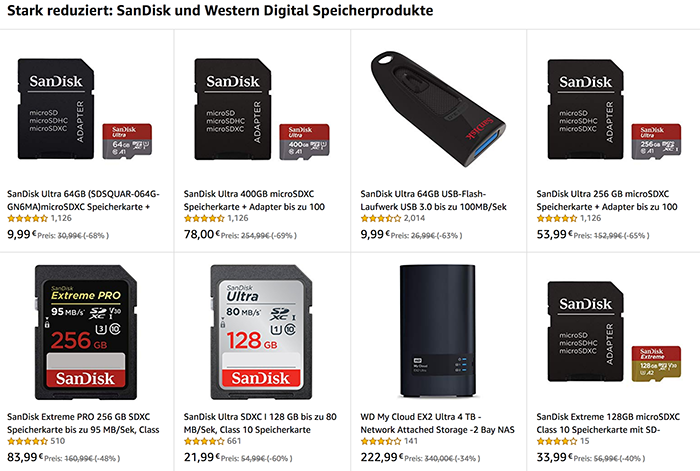 New New European Black Friday Deals On Sandisk And Trascend Cards 43 Rumors