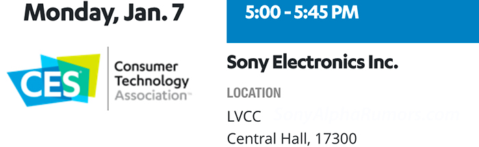 SR4) Sony rumored to announce 8k gear including an 8K camera