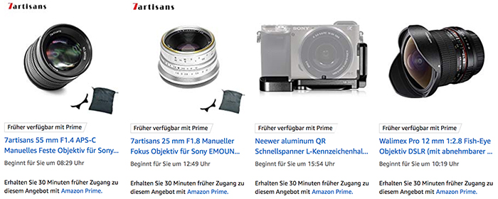 new european black friday deals on e mount lenses sonyalpharumors sonyalpharumors. Black Bedroom Furniture Sets. Home Design Ideas