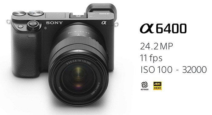 Sony A6400 has been officially announced!