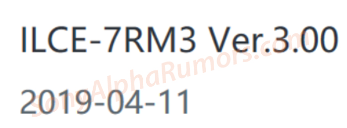 SR5) On April 11 Sony will release the new 3 0 firmware for the