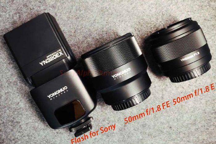 (SR5) Yongnuo will also announce new 35mm f/1.8, 35mm f/2.0 and one 24-70mm FE lens this year!