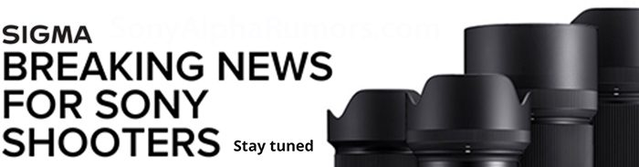 RUMOR: Sigma will announced a new 28-70mm f/2.8 FE lens on February 24