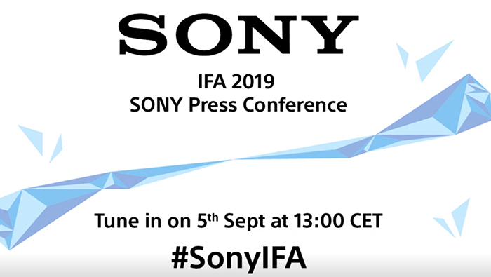 Sony announcement on September 5   but likely no new E-mount