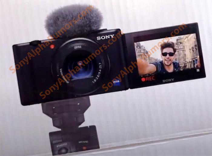 Sony Zv 1 Vlogger Camera Press Text Leaked Sonyalpharumors