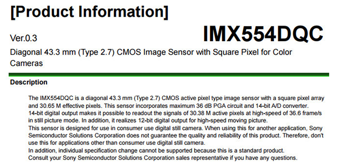 Quick look at the possible Sony A7IV sensor specs – sonyalpharumors