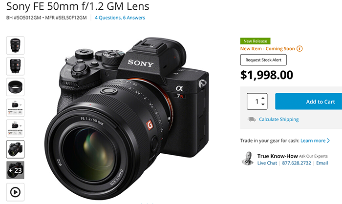 """Sony 50mm f/1.2 G Master Review by Petapixel: """"It Was Worth the Wait"""" – sonyalpharumors"""