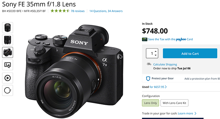 """Sony FE 35mm f/1.8 review at Opticallimits: """"decent performer but it doesn't excel in all categories"""" – sonyalpharumors"""