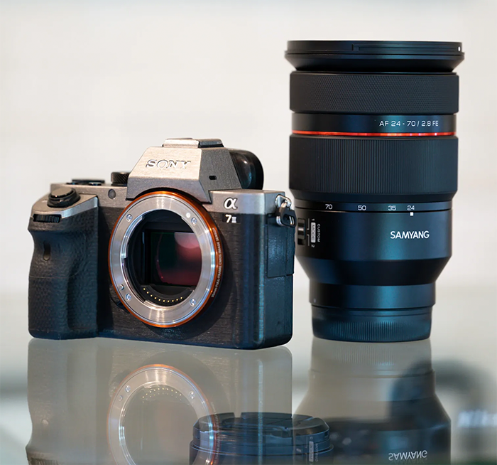 LEAKED: New Samyang 24-70mm f/2.8 FE autofocus and parfocal zoom Lens images and specs – sonyalpharumors